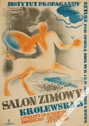 Tadeusz Gronowski (1894-1990) - [Plakat, 1931] Salon Zimowy