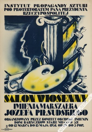 Tadeusz Gronowski (1894-1990) - [Plakat, 1931] Salon Wiosenny