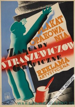 Tadeusz Gronowski (1894-1990) - [Plakat, 1932] Zakłady Straszewiczów