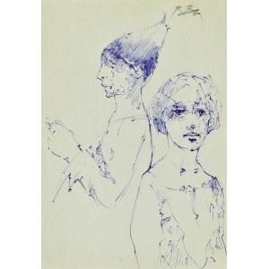 Roman BANASZEWSKI (1932-2021), Szkice dwóch popiersi
