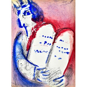 Marc CHAGALL (1887 - 1985), Mojżesz