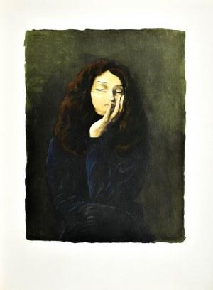 Mojżesz KISLING (1891 - 1953), Zamyślona