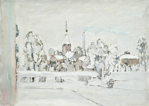 Henryk KRYCH (1905-1980), Pejzaż zimowy
