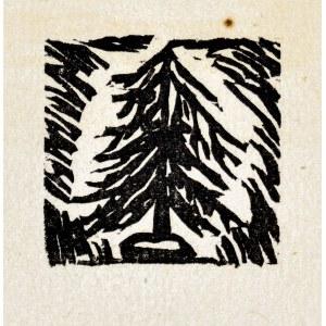 Tadeusz MAKOWSKI (1882-1932), Drzewo iglaste