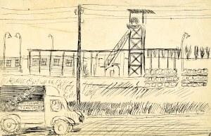 Marian MALINA(1922 - 1985), Droga przy kopalni