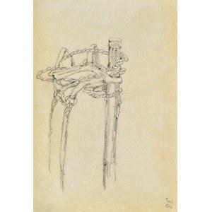 Tadeusz RYBKOWSKI (1848-1926), Szkic uprzęży