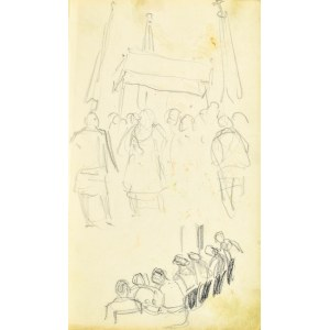 Henryk UZIEMBŁO(1879-1949), Szkice postaci