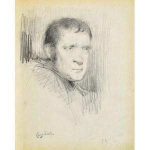 Eugeniusz ZAK (1887-1926), Głowa mężczyzny, 1903