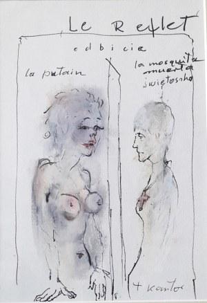 """KANTOR TADEUSZ, """"Le Reflet / Odbicie"""", do spektaklu """"Niech sczezną artyści"""" (1985)"""