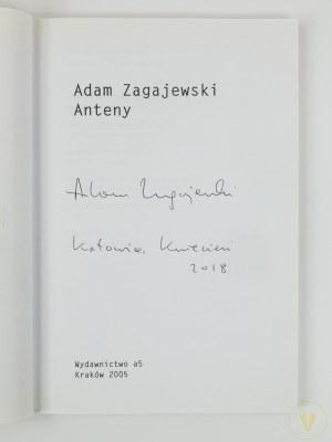 Zagajewski Adam, Anteny [Autograf autora!]