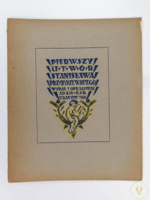 [Przybyszewski Stanisław] Bar Adam, Pierwszy utwór Przybyszewskiego [ex libris Jarosława Dolińskiego]