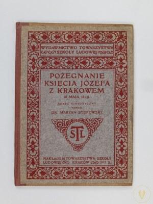 Stępowski Maryan, Pożegnanie Księcia Józefa z Krakowem (8 maja 1813)