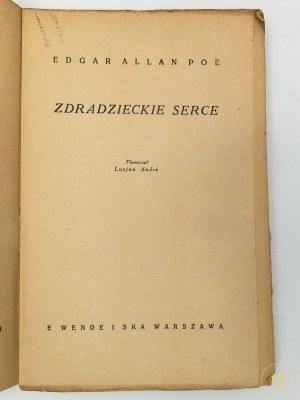 Poe Edgar Allan, Zdradzieckie serce [okładka Lucjan Jagodziński]