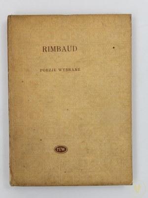 Rimbaud Artur, Poezje [I polskie wydanie][seria Biblioteka Poetów]