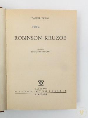 Defoe Daniel, Robinson Kruzoe [drzeworyty E. Kuczyński]
