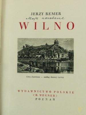 Remer Jerzy, Wilno seria Cuda Polski [Poznań 1934]