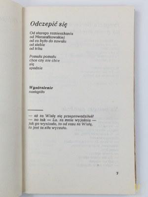 [Henryk Tomaszewski] Białoszewski Miron, Odczepić się [wydanie I]