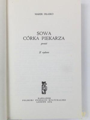 Hłasko Marek, Sowa, córka piekarza
