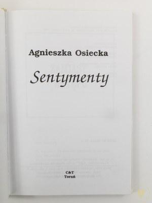 Osiecka Agnieszka, Sentymenty [wydanie I]
