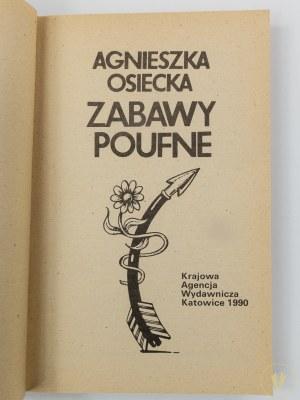 Osiecka Agnieszka, Zabawy poufne [wydanie I]
