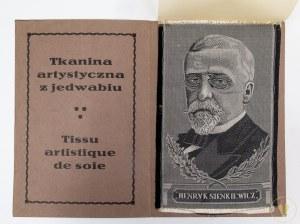 Henryk Sienkiewicz. Portret na tkaninie