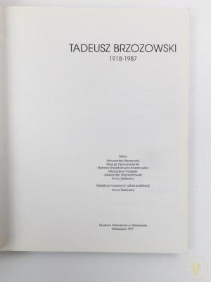 [Katalog wystawy] Tadeusz Brzozowski 1918 - 1987