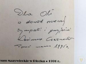 [Dedykacja autora!] Czarnecki Kazimierz, Grafika Franciszka Siedleckiego