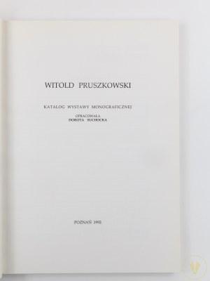 [Katalog wystawy] Witold Pruszkowski 1846-1896. Wystawa monograficzna