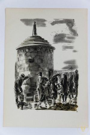 Uniechowski Antoni, Stara Warszawa. Teka z dwunastoma ilustracjami (komplet)