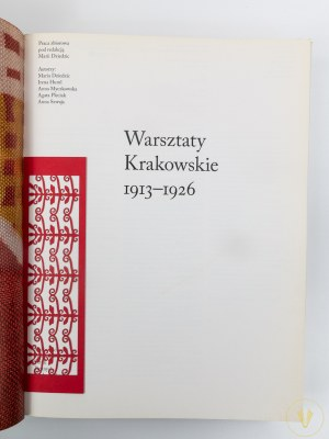 Warsztaty krakowskie 1913 - 1926 [B. Lenart, Stryjeńscy]