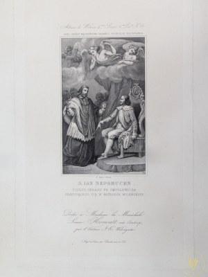[Wilno] [Album de Wilna] Jan Nepomucen Podług obrazu Franciszka Smuglewicza zaydującego się w Katedrze Wileńskiej