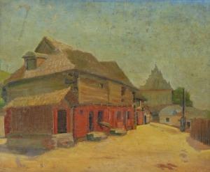 Wincenty POTACKI (1904-2001), Kazimierz Dolny - Jatki, l. 30 XX w.