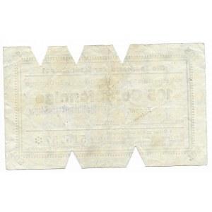 Zoppot (Sopot), Sparkasse der Stadt, 105 Goldpfennige 1923