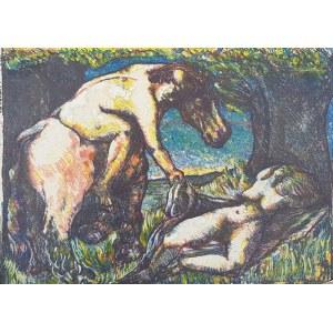 Jerzy Lassota, Scena mitologiczna, 1970 r.