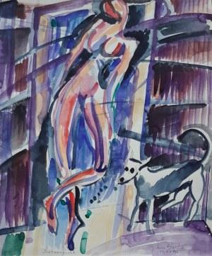 Jerzy Lassota, Spacer poranny, 1970 r.