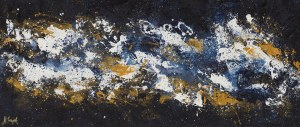 Małgorzata Gajek, Abstract blue, 2021