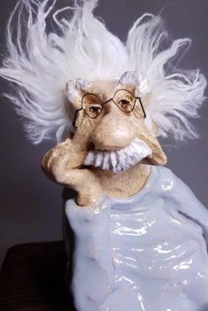Anna Mańkowska, Albert Einstein
