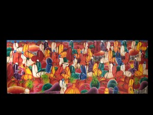Artysta haitański, Targ