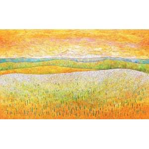 Monika Siwiec (ur. 1995), Pomarańczowe pola, 2021