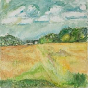 Ewa Ludwikowska (ur. 1956), Upalne lato, 2020