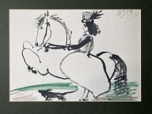 Pablo Picasso ( 1881 – 1973), Z cyklu Toros y Toreros