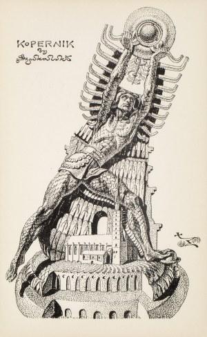 Stanisław SZUKALSKI (1893 - 1987), Kopernik (projekt pomnika), ok. 1975