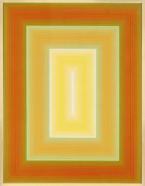 Richard ANUSZKIEWICZ, Bez tytułu, 1970