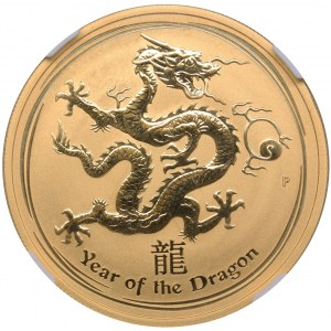 Australia 100 dollars 2012 P - Year of the Dragon NCC MS 68