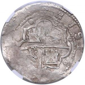Spain - Toledo 8 reales ND - NGC AU 55