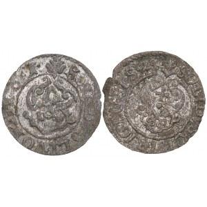 Riga - Livonia - Sweden Solidus 1623, 1661 (2)