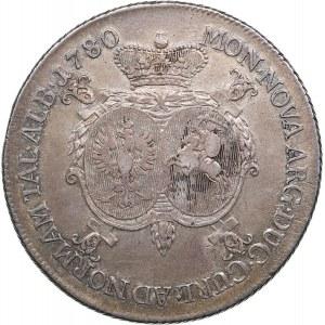 Courland - Russia Taler 1780 - Piotr Biron (1769-1795)