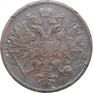 Russia 3 kopeks 1860 BM
