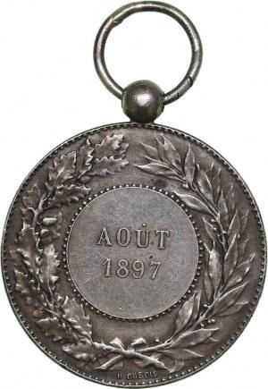 France medal Aout 1897