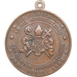 Germany - Mainz medal Paul Leopold Haffner (1886-1899)